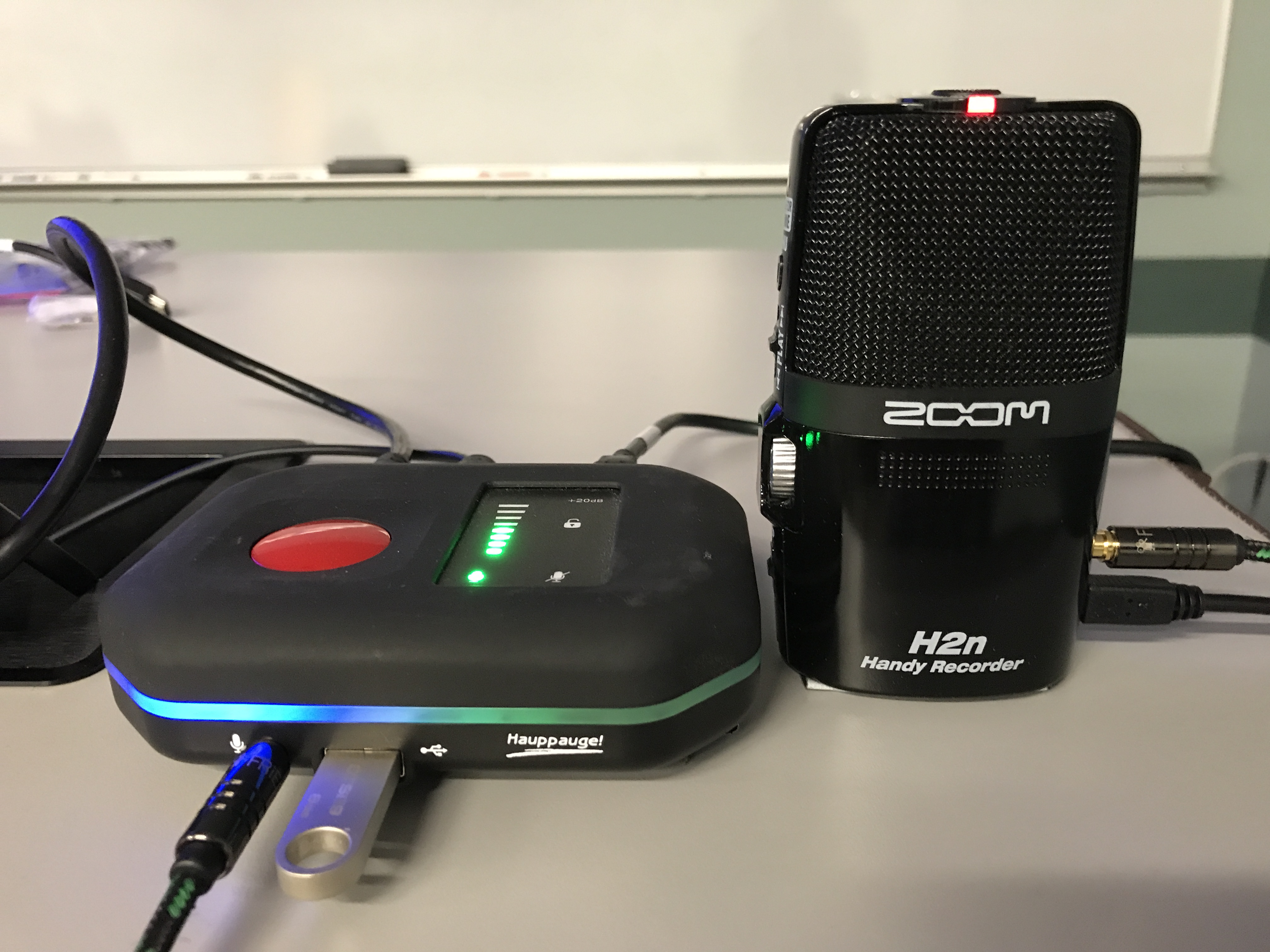 hauppauge pvr rocket with zoom h2n audio recorder